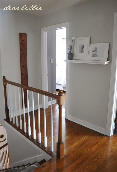 upstairs hallway by dear lillie grey moonshine in matte