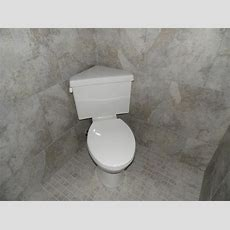Saving Space In Your Small Bathroom With A Corner Toilet