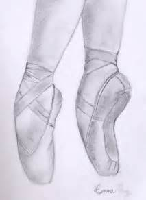 Ballet Pointe Shoes Drawing