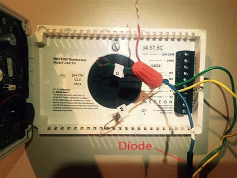 Insteon Thermostat Wiring Diagram by Smarthome Forum Help Installing A 2441th With Four Wires