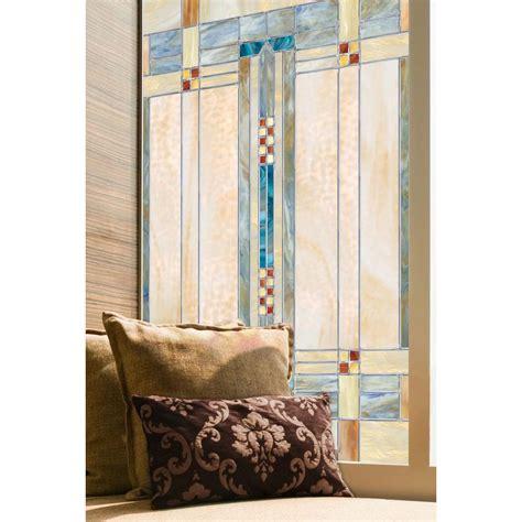 artscape bamboo decorative window artscape 24 in x 36 in artisan decorative window 01