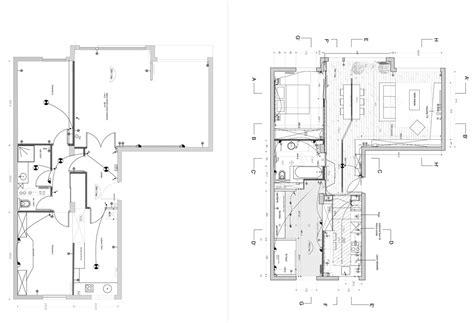 plan de maison 3 chambres salon rénovation d 39 une appartement 3 pièces par un architecte d