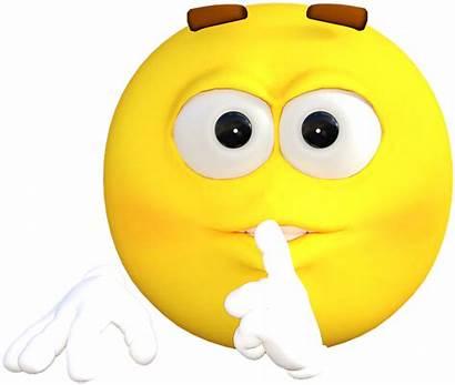 Emoji Face Why Smiley Emotions Shush Cartoon