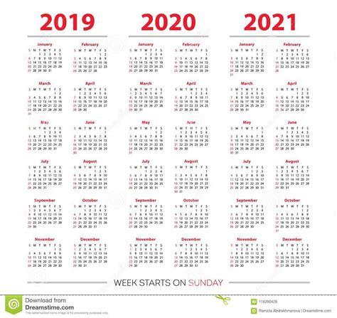 calendario sistema comienzo de la semana