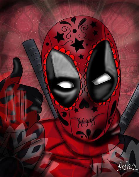 Muertos Deadpool Digital Art By Sandra Caravalho