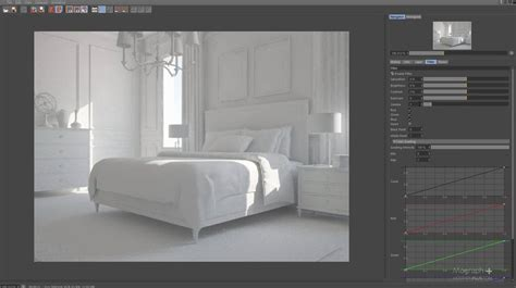 4d Home Interior : Interior Lighting And Scene Optimization In V-ray For