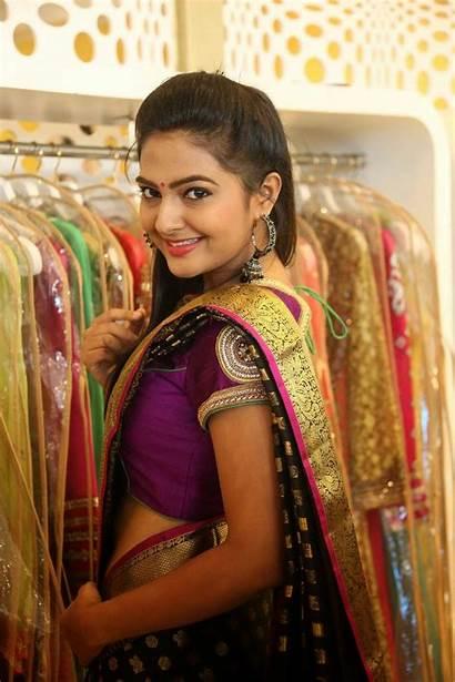 Saree Tamil Actress Trisha Neha Deshpande Stills