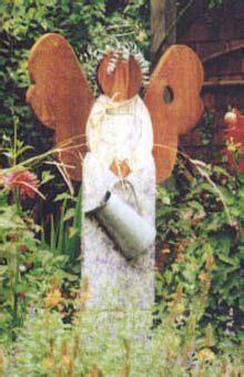 garden wooden angels crafts amp wood flowers gardens