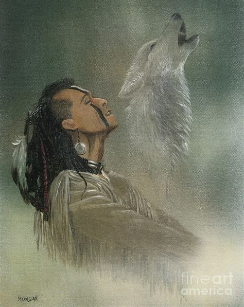 american indian painting by fitzsimons