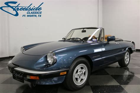 1988 Alfa Romeo Spider by 1988 Alfa Romeo Spider Veloce For Sale 76623 Mcg