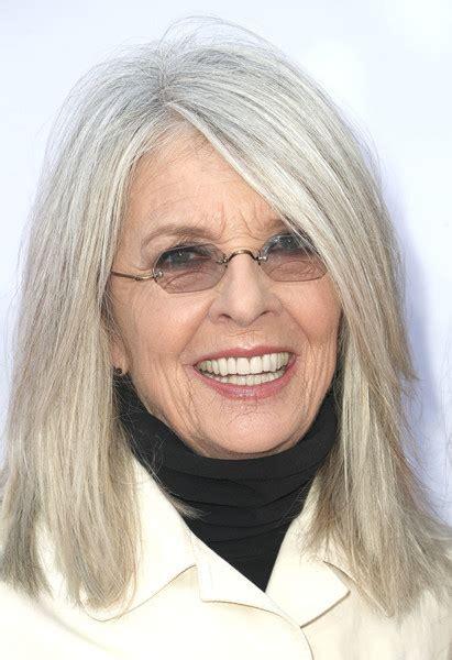 Diane Keaton  Classy Hairstyles For Gray Hair Stylebistro