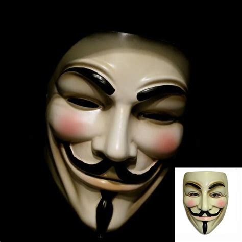 lot   vendetta mask guy fawkes anonymous party masks