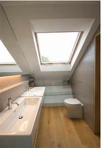 amenagement petite salle de bain sous comble 8 une With amenagement petite salle de bain sous pente