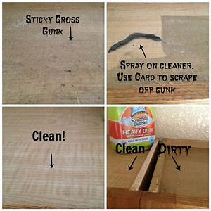 How To Clean The Tops Of Greasy Kitchen Cabinets - Secret