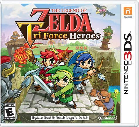 La familia nintendo 3ds de consolas portátiles el catálogo de nintendo 3ds guarda una gran cantidad de juegos de calidad que están esperando a ser descubiertos por los jugadores. Videojuego The Legend Of Zelda Tri Force Heroes Nintendo ...