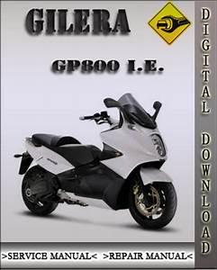 Gilera Gp800 I E 2008 Factory Service Repair Manual
