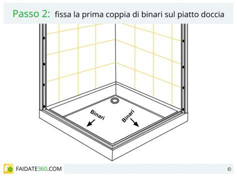 Montaggio Piatto Doccia In Ceramica by Come Si Monta Una Cabina Doccia Boiserie In Ceramica Per
