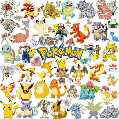 Pokemon Clipart Printable Stickers Pikachu Scrapbook Birthday