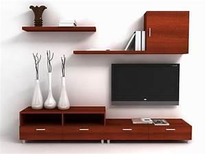 Table Pour Tv : meuble tv meubles tv ~ Teatrodelosmanantiales.com Idées de Décoration