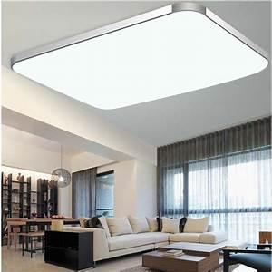 Wohnzimmer Deckenlampe : 72w gro led deckenleuchte deckenlampe wohnzimmer leuchte ~ Pilothousefishingboats.com Haus und Dekorationen