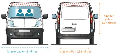 dimensions canapé 3 places quelle capacité pour une camionnette de 3m3