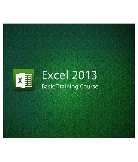 certification courses excel 2013 basic course e certificate course