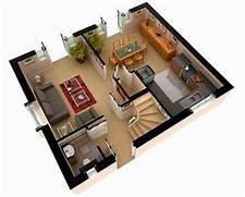 Multi Story House Plans 3D 3D Floor Plan Design Modern Residential Indian Style 3D House Elevations Kerala Home Design And Floor Plans 3d Floor Plan 3d Floor Plans Wazo Communications Plan Drawings Drafting Services House Office Floor Plan Design