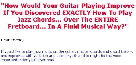 """jazz Guitar Chord System"" Helps"