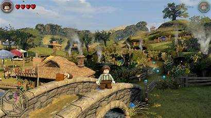 Hobbit Lego Link Games Shire Screenshot