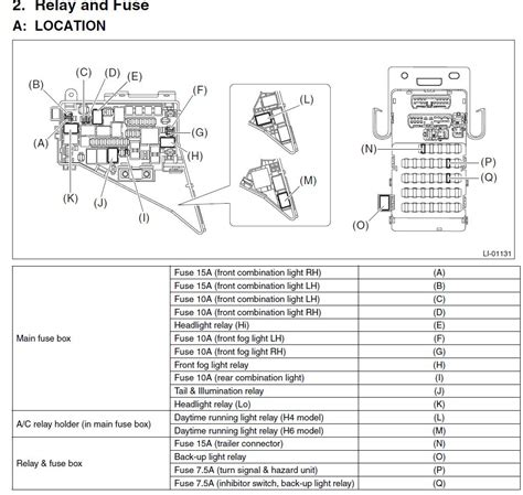 Outback Wiring Diagram by 93 Subaru Legacy Fuse Boxwiring Diagram 1968 Mustang Coupe