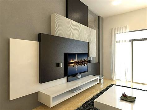 Fernsehwand Ideen by 40 Unique Tv Wall Unit Setup Ideas Bored