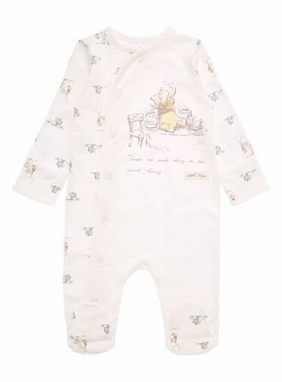 Pooh Winnie Clothes Unisex Disney Sleepsuit Clothing