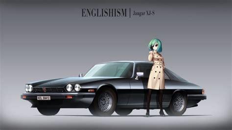 Anime Car Wallpaper - hair anime anime car jaguar aqua hair