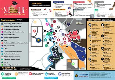 studenti roma s p q r la mappa per gli studenti universitari a roma