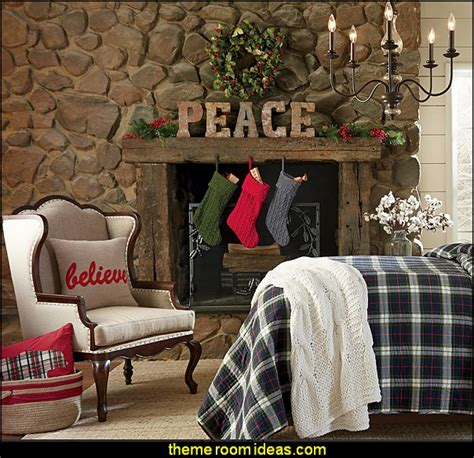 Decorating theme bedrooms Maries Manor: Rustic Christmas