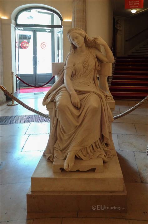 Marble Rachel Statue At Comedie Francaise Page 1114