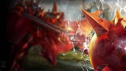 League Legends Mordekaiser Screen Infernal Thresh Broken