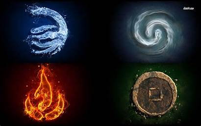 Elements Element Four Wind Earth Air Elemental