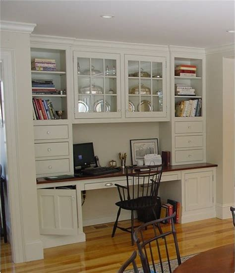 desk with cabinets built in built in desk kitchen spaces and cabinet dreams pinterest