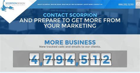 scorpion web design scorpion design best web design firms