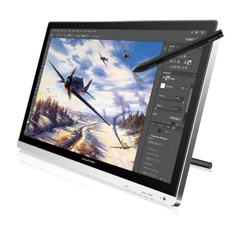 huion gt  professional lcd drawing boardgraphic tablet