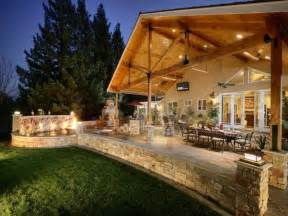 Photo Of Homes With Outdoor Living Spaces Ideas by Outdoor Step Covered Outdoor Living Space Covered