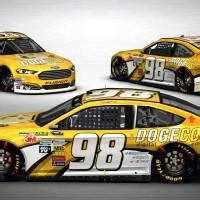 Dogecoin NASCAR Ford Fusion makes debut in photos - SlashGear