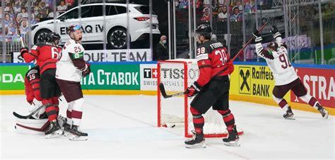 Latvija ieiet vēsturē ar uzvaru pret Kanādu - Hokeja Blogs