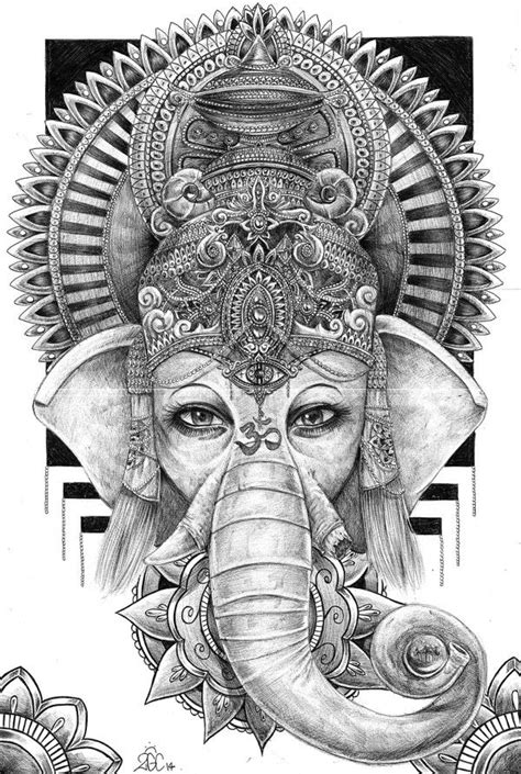 tatuajes de elefantes religiosos - Buscar con Google | Ganesha tattoo, Ganesha, Elephant tattoos