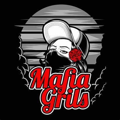 Vector Mafia Drawing Rose Designs Shirt Biker