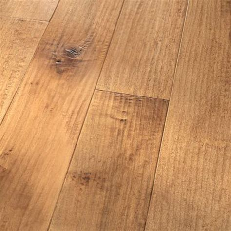 scraped maple flooring 5 quot hard maple blush amish handscraped flooring engineered hardwood