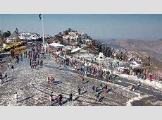 After snowfall, it's bright sunny in Shimla, Manali