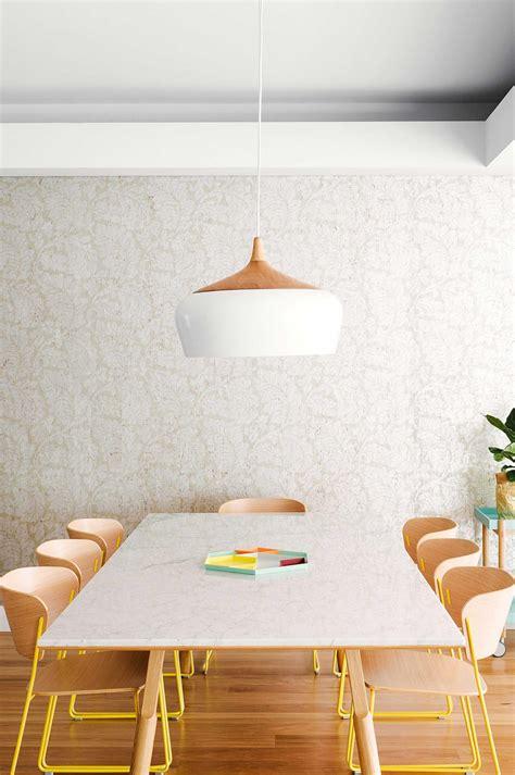 salle a manger papier peint fleuri picslovin