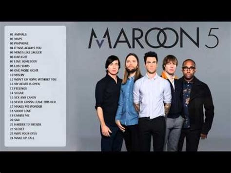 maroon 5 first song maroon 5 greatest hits full album 2015 edition best